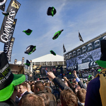 Guinness fest at Cheltenham Races