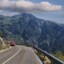 Logara pass in Albania