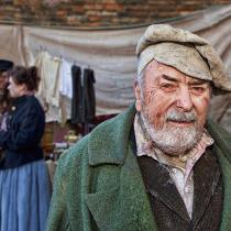 Victorian Portrait of  a poor man