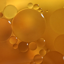 Image of oils on water rings